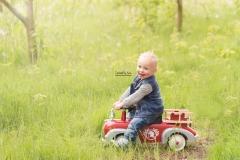 Kidsshoot met brandweerauto-112